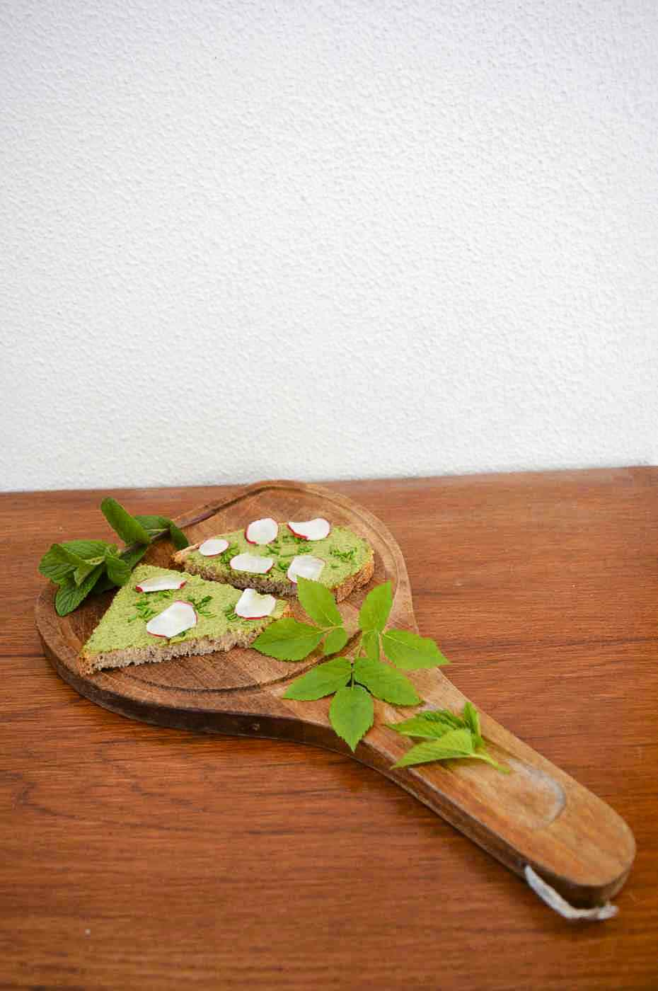 veganistisch plantaardig glutenvrij suikervrij wildpluk zevenblad